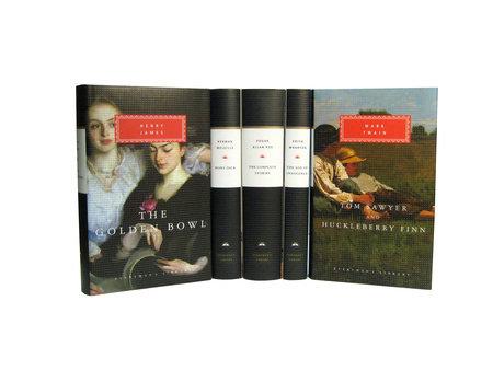 American 19th Century Literature by Edgar Allan Poe, Henry James, Herman Melville, Mark Twain and Edith Wharton
