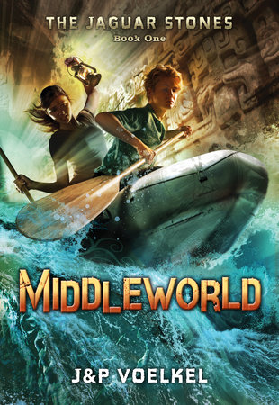 The Jaguar Stones, Book One: Middleworld cover