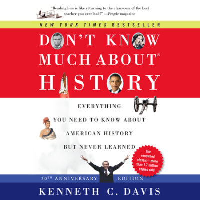 Don't Know Much About History, 30th Anniversary Edition cover