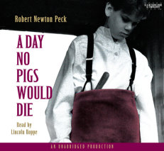 A Day No Pigs Would Die cover big