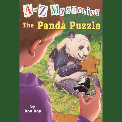 A to Z Mysteries: The Panda Puzzle cover