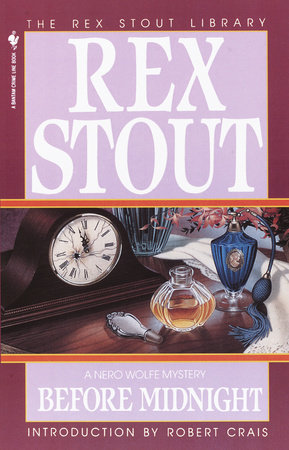 Before Midnight by Rex Stout