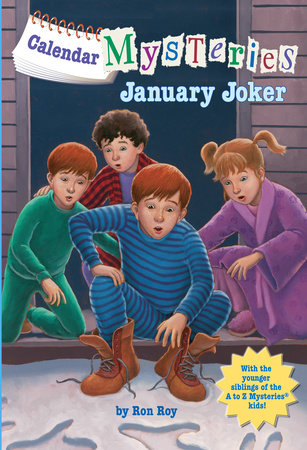 Calendar Mysteries #1: January Joker by Ron Roy
