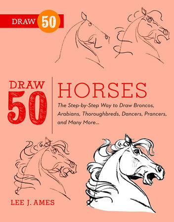 Draw 50 Horses by Lee J. Ames