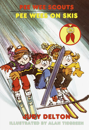 Pee Wee Scouts: Pee Wees on Skis by Judy Delton