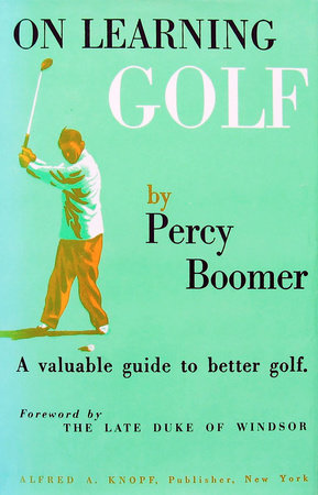 On Learning Golf by Percy Boomer