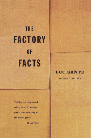 The Factory of Facts by Luc Sante