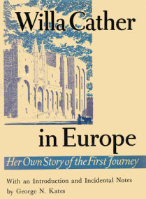 Willa Cather In Europe