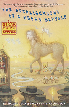 Autobiography of a Brown Buffalo by Oscar Zeta Acosta