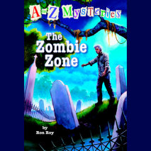A to Z Mysteries: The Zombie Zone Cover