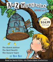 A to Z Mysteries: Books A-C Cover