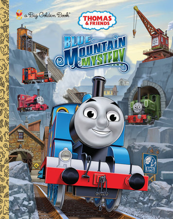 Blue Mountain Mystery (Thomas & Friends) by Rev W Awdry; illustrated by Tommy Stubbs