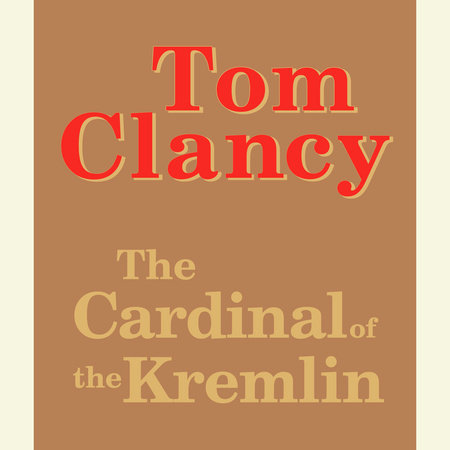 The Cardinal of the Kremlin easel by Tom Clancy