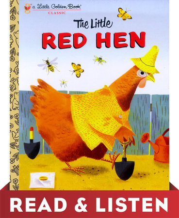 The Little Red Hen: Read & Listen Edition