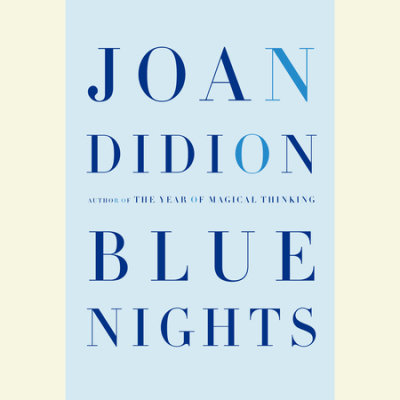Blue Nights cover