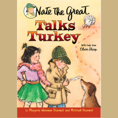 Nate the Great Talks Turkey cover
