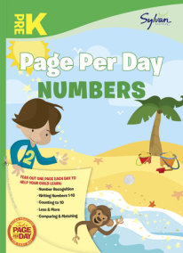 Pre-K Page Per Day: Numbers