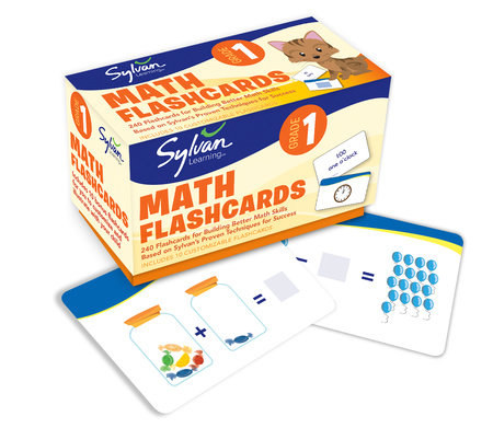 1st Grade Math Flashcards by Sylvan Learning