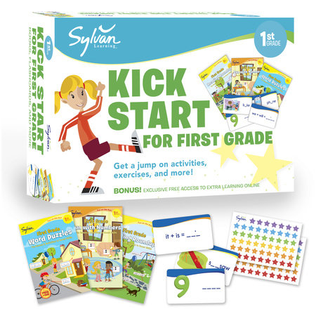 Sylvan Kick Start for First Grade by Sylvan Learning