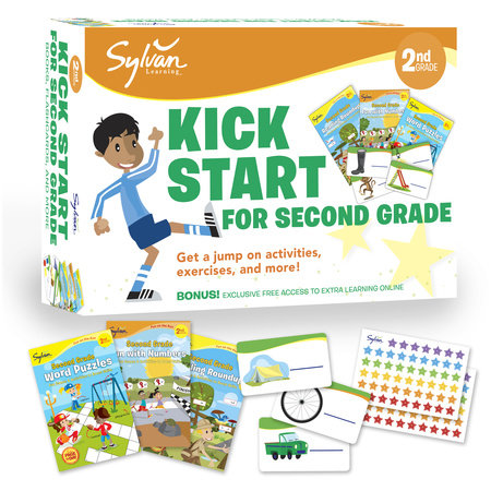 Sylvan Kick Start for Second Grade by Sylvan Learning