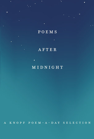 Poems After Midnight by Knopf