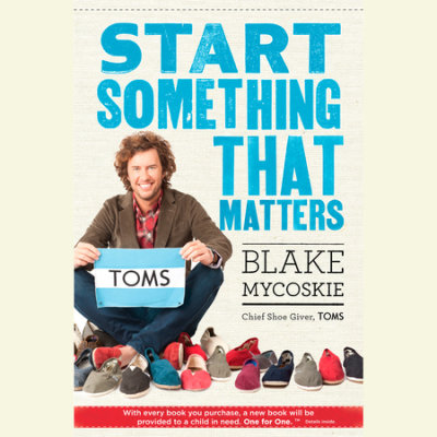 Start Something That Matters cover