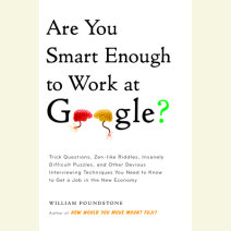 Are You Smart Enough to Work at Google? Cover