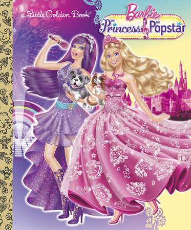 Princess And The Popstar Little Golden Book Barbie By Mary Tillworth