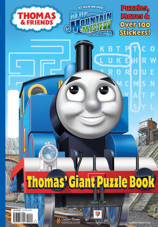 Thomas' Giant Puzzle Book (Thomas & Friends) by Rev. W. Awdry