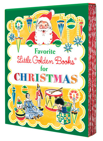 Favorite Little Golden Books for Christmas 5 copy boxed set by Various