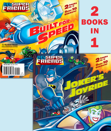 Joker's Joyride/Built for Speed (DC Super Friends) by Dennis R. Shealy