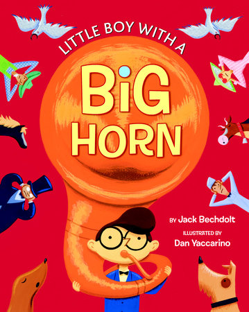 Little Boy with a Big Horn by Golden Books