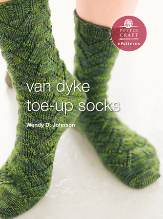 Van Dyke Socks by Wendy D. Johnson