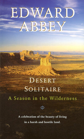 The cover of the book Desert Solitaire
