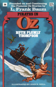 Pirates in Oz (Wonderful Oz Books, No 25)
