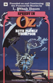 Speedy in Oz (Wonderful Oz Books, No 28)