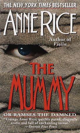The cover of the book The Mummy or Ramses the Damned