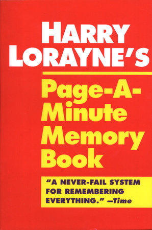 Harry Lorayne's Page-a-Minute Memory Book by Harry Lorayne