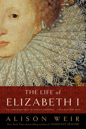 The Life of Elizabeth I Book Cover Picture