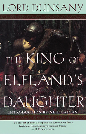 The cover of the book The King of Elfland's Daughter