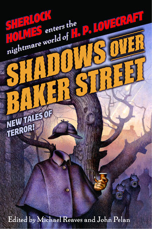 The cover of the book Shadows Over Baker Street