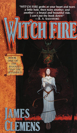 Wit'ch Fire by James Clemens