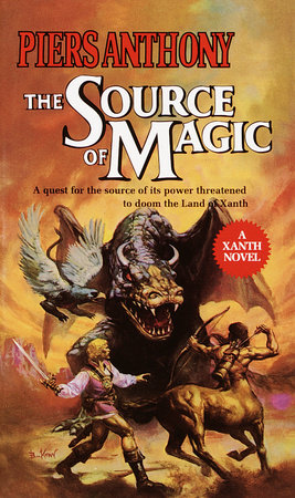 SOURCE OF MAGIC by Piers Anthony