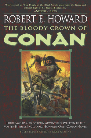 The cover of the book The Bloody Crown of Conan