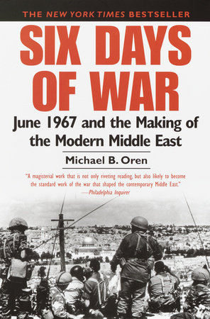 Six Days of War Book Cover Picture