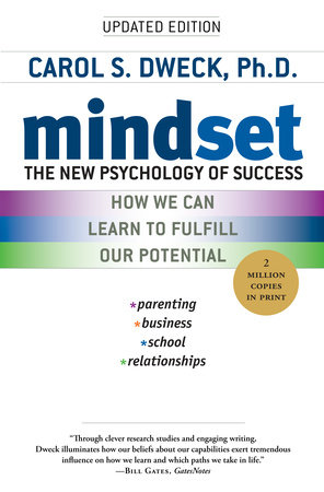 The cover of the book Mindset