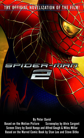 Spider-Man 2 Book Cover Picture
