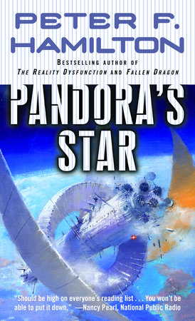 The cover of the book Pandora's Star