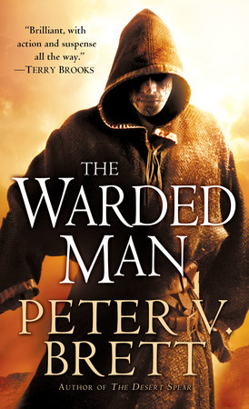 The cover of the book The Warded Man: Book One of The Demon Cycle