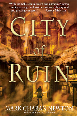 City of Ruin by Mark Charan Newton